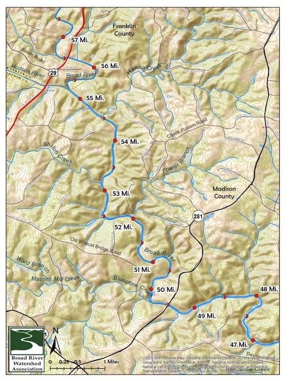 BRWA Middle Section Map 7